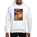 Mandolin Angel & Yorkie (T) Hooded Sweatshirt