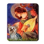 Mandolin Angel & Yorkie (T) Mousepad
