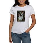 Ophelia's Yorkie (T) Women's T-Shirt