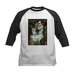 Ophelia's Yorkie (T) Kids Baseball Jersey