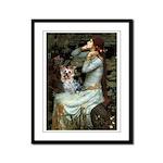 Ophelia's Yorkie (T) Framed Panel Print