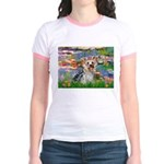 LILIES / Yorkie (T) Jr. Ringer T-Shirt