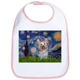 Starry Night Yorkie (T) Bib