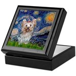 Starry Night Yorkie (T) Keepsake Box