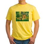 Bridge / Yorkie (T) Yellow T-Shirt