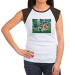 Bridge / Yorkie (T) Women's Cap Sleeve T-Shirt