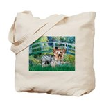 Bridge / Yorkie (T) Tote Bag
