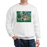 Bridge / Yorkie (T) Sweatshirt