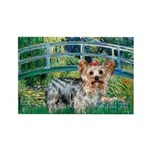 Bridge / Yorkie (T) Rectangle Magnet