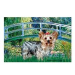 Bridge / Yorkie (T) Postcards (Package of 8)