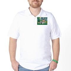 Bridge / Yorkie (T) Golf Shirt