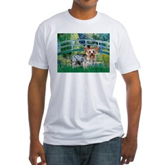 Bridge / Yorkie (T) Fitted T-Shirt