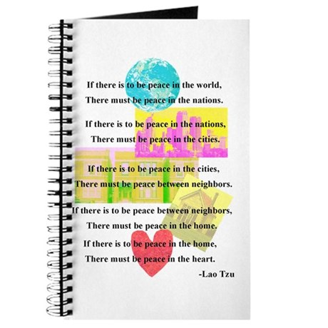 Peace Quote Journal