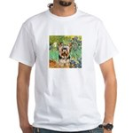 IRISES / Yorkie (17) White T-Shirt