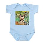 IRISES / Yorkie (17) Infant Bodysuit