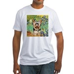 IRISES / Yorkie (17) Fitted T-Shirt