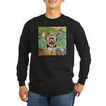 IRISES / Yorkie (17) Long Sleeve Dark T-Shirt