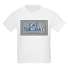 Fat Tuesday Kids T-Shirt