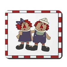 Annie and Andy Mousepad