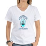 House of Blue Lights Women's V-Neck T-Shirt