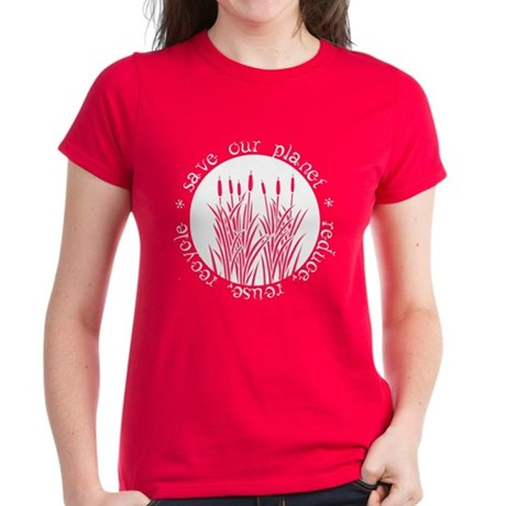 Save Our Planet Women's Dark T-Shirt