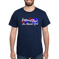 Loves an Aussie Girl T-Shirt