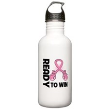 Breast Cancer Win Water Bottle