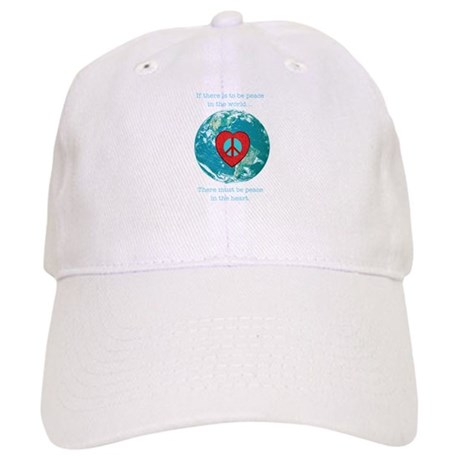 World Peace Heart Cap