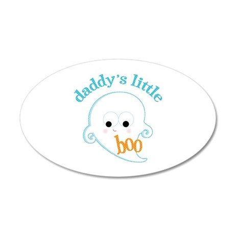 Daddy's Boo 35x21 Oval Wall Decal