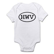 HWV Oval Infant Bodysuit