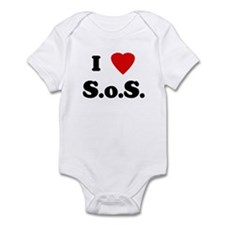 I Love S.o.S. Infant Bodysuit