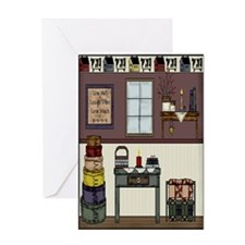 Country Room Greeting Card