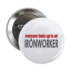 "Ironworker 2.25"" Button (100 pack)"