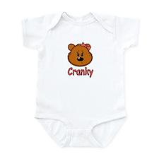 Cranky Bear Girls Infant Bodysuit