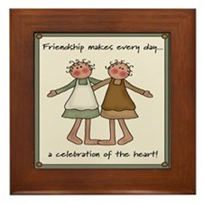Celebration of the Heart Framed Tile