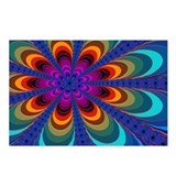 &quot;Color 16&quot; Fractal Art Postcards (Package of 8)