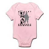 Niece Proudly Serves - USMC Infant Bodysuit