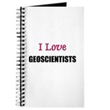 I Love GEOSCIENTISTS Journal