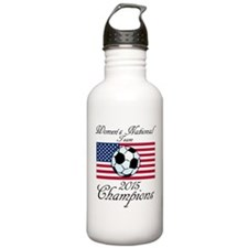 2015 Champions Women's National Soccer Team Water