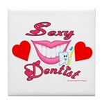 Sexy Dentist Tile Coaster