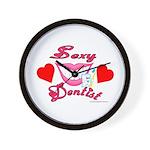 Sexy Dentist Wall Clock