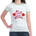 Sexy Dentist Jr. Ringer T-shirt