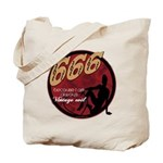 666 Devilish Sign Female Tote Bag
