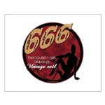 666 Devilish Sign Female Small Poster