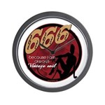 666 Devilish Sign Female Wall Clock