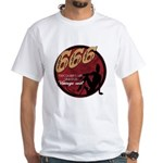 666 Devilish Sign Female White T-Shirt