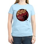666 Devilish Sign Female Women's Light T-Shirt