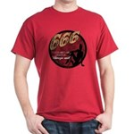 666 Devilish Sign Female Dark T-Shirt