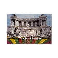 Vittorio Emanuale Roma Souvenir Rectangle Magnet