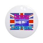 Caravan Couture Ornament (Round)